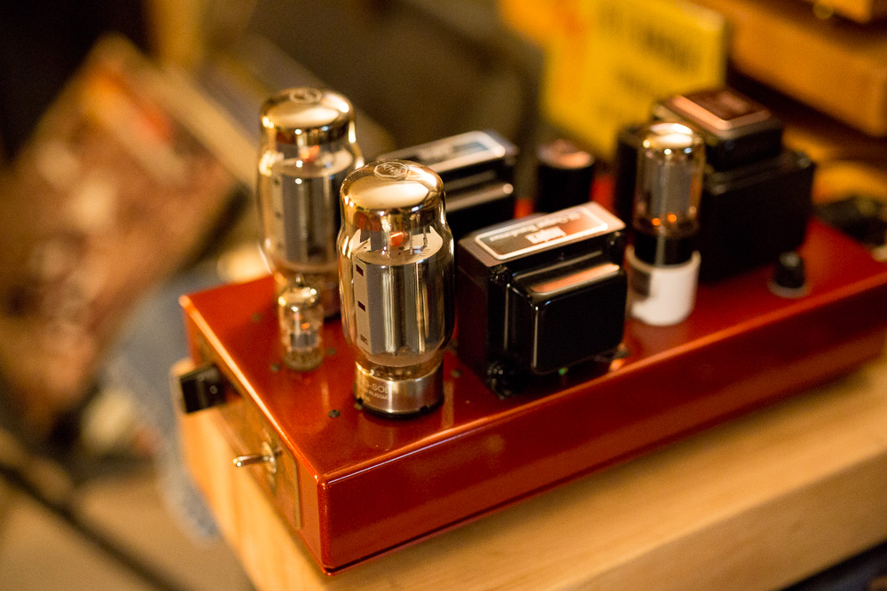 Dennis Had Inspire IFA-1 Single Ended KT88 amplifier